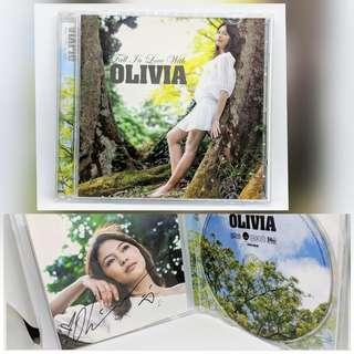 Olivia Ong signature Album- collectible