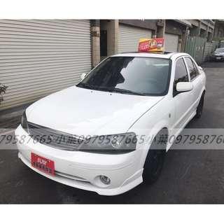 專辦全額貸 0元可交車 2004年 福特 TIERRA  1.6 白色