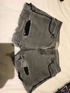 Vintage free people denim shorts - moving sale! Everything must go