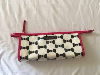 Repriced Authentic Kate spade make up pouch