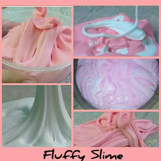 Fluffy Slime with FREE Borax available in 100ml. & 250ml.