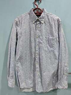 UNIQLO Men Extra Fine Cotton Shirt (Flower Pattern)