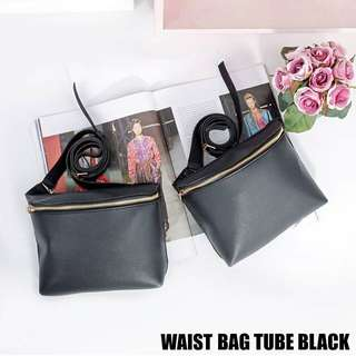 Waist bag tube black