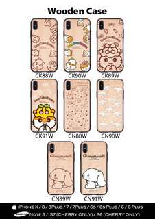 Sanrio 全新包邊木殻 保護性強 for iPhone Only