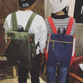 Living Travelling Share with Cover Canvas Backpack