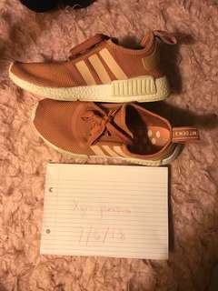 Authentic adidas pink NMD's