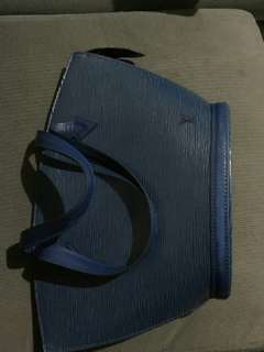 LV St Jacques PM Epi Blue (short strap)