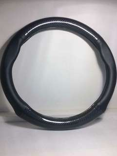 Original Carbon Leather Steering Cover