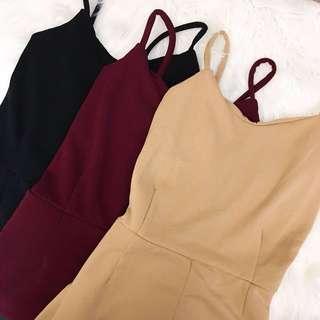 rose jumpsuit // trendy apparel