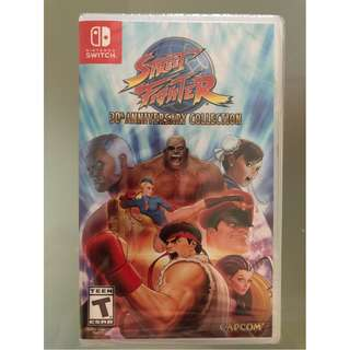 🚚 Street Fighter 30th Anniversary Collection - Nintendo Switch Standard Edition