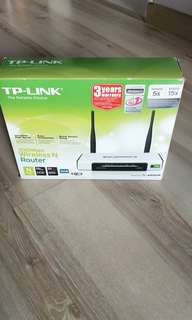 Used TP Link TL-WR841N 300Mbps wireless N router