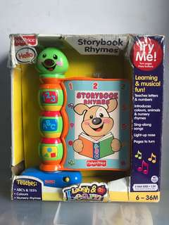 story book rhymes fisher price