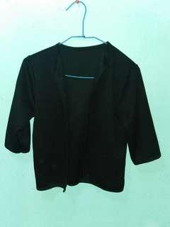 Black blazer/bolero