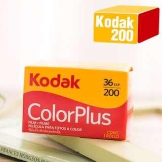 KODAK colorplus 200度36張