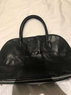 AKAHU vintage Italian leather bag - MOVING SALE SEE all listings!