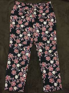 Anne Taylor cropped pants