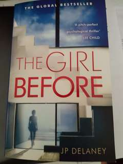 The Girl Before by JP Delaney- Fiction