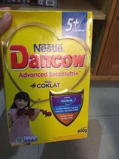 susu dancow 5 plus rasa coklat 800gr