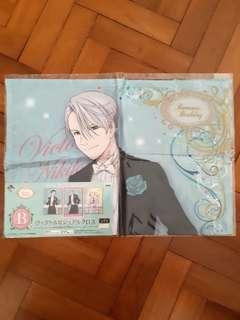 Yuri on Ice Romantic Birthday Kuji Prize B :3
