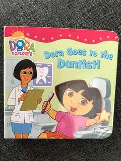 Dora mini board book - Dora goes to the dentist