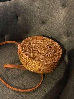 Bali Rattan Bag Medium