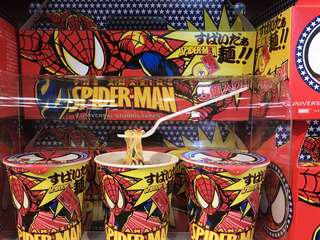 Marvel SpiderMan cup noodles 杯麵