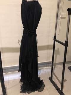 Bariano black dress 6 small