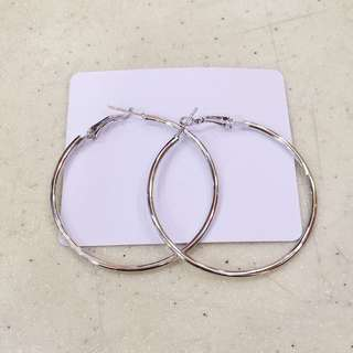 Round Hoops (Silver)