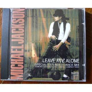 Michael Jackson Leave me alone Mega rare studio Promo CD single Remixes Bad Album