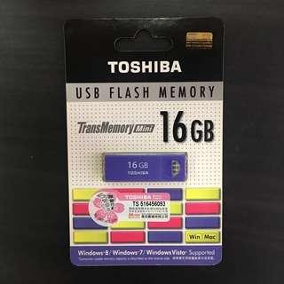 香港行貨 Toshiba 東芝 USB 16gb 5年保養