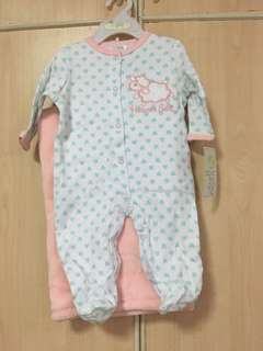 2pc Sleepsuit w/blanket