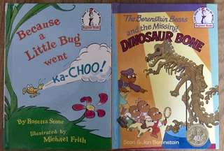 Dr. Seuss - Bright and Early books for beginning beginners.