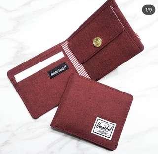 Herschel 銀包麻紅包硬幣位$220