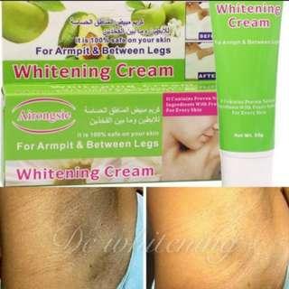 Armpit whitening offer