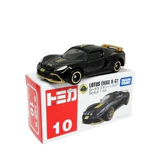 Takara Tomy Tomica No.10 Lotus Exige R-GT (Box)