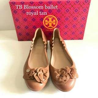 TB blossom ballet royal tan sz 6.5+7+7.5+8.5