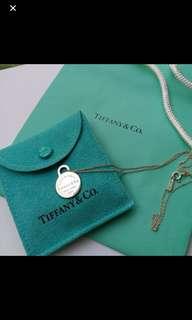 95%new925 Tiffany Necklace