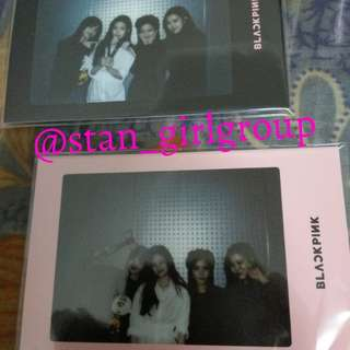 BLACKPINK OFFICIAL PHOTOCARD LIGHTSTICK