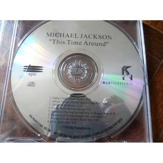 Michael Jackson This Time Around 8 Track USA Promo CD single rare remixes History