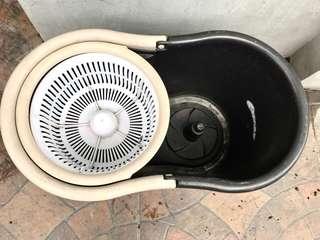 Tornado mop case holder