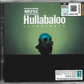 MUSE Hullabaloo Soundtrack 2CD Imported CD