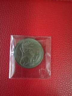 Singapore $1 Coins 1969