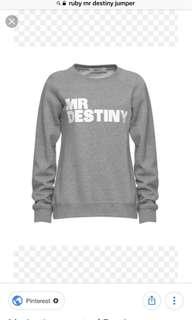MR destiny ruby jumper
