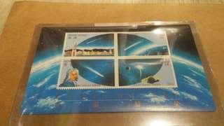 香港哈雷彗星 小型張靚品 有十張每張$35