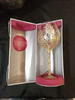 Lolita deco wine glass. Limited edition