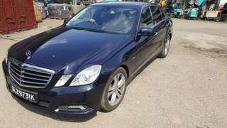 Mercedes e250 CGI 2012