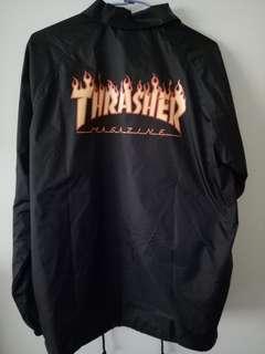 🚚 Thrasher教練外套 羊頭 日版L