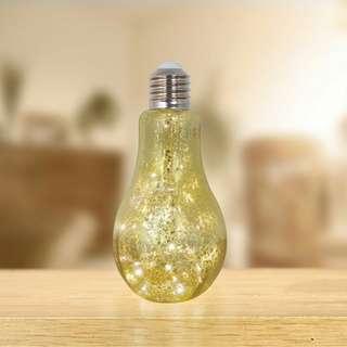 Metallic Retro Lamp