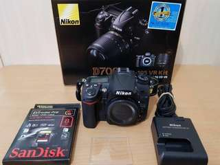 Nikon d7000 with freebies 5,025 shutter count only