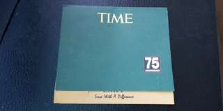 Time 75th Anniversary phone cards